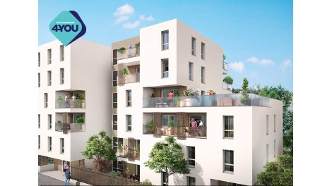 Appartement neuf Pixell investissement loi Pinel à Villeurbanne