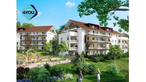 Appartement neuf Cinq Sens investissement loi Pinel à Poisy