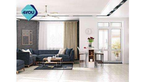 Appartement neuf Aïgabella éco-habitat à Sète