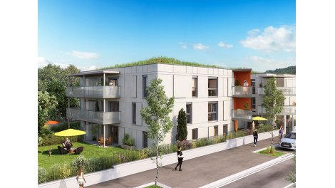 Appartement neuf L'Aixquisse investissement loi Pinel à Aix-les-Bains