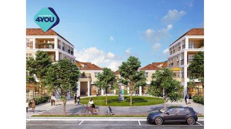 Appartement neuf Les Allees de Montevrain investissement loi Pinel à Montévrain