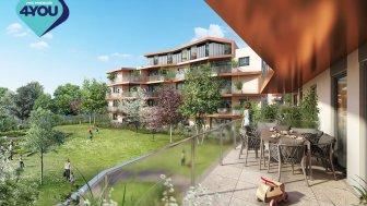 Appartements neufs Les 5 Jardins investissement loi Pinel à Décines-Charpieu