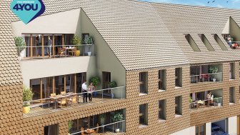 Appartements neufs L'Heritage éco-habitat à Colmar
