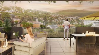 Appartements neufs Les Jardins de la Tiretaine investissement loi Pinel à Chamalières