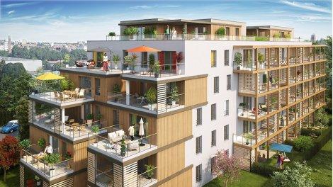 Appartements neufs Secret Garden investissement loi Pinel à Strasbourg