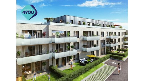 Appartements neufs Natur' & Sens investissement loi Pinel à Roncq