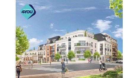 Appartement neuf Residence Côté Bains investissement loi Pinel à Saint-Ouen