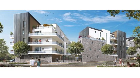 Appartement neuf Park Horizon investissement loi Pinel à Orléans
