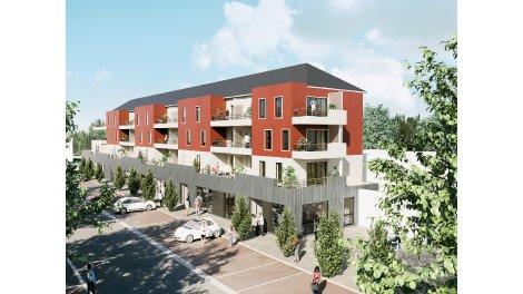 Appartements neufs Latitude 47 investissement loi Pinel à Ormes