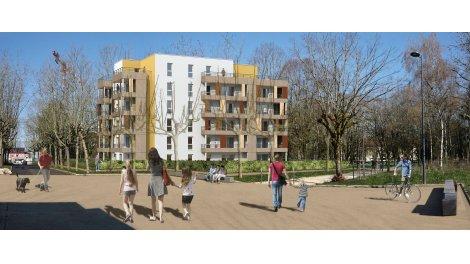 Appartement neuf La Clairiere investissement loi Pinel à Dijon