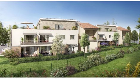 Appartement neuf Parc de Vic Castanet-Tolosan éco-habitat à Castanet-Tolosan