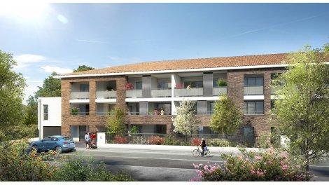 Appartement neuf Les Balcons de Flore éco-habitat à Toulouse