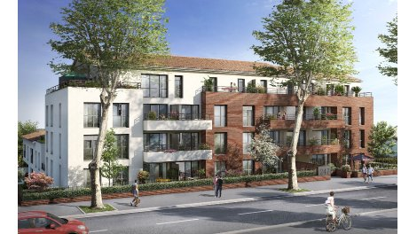 Appartement neuf Le Carré des Ifs éco-habitat à Toulouse